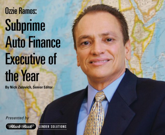 Ozzie Ramos Subprime Executive of the Year 2016